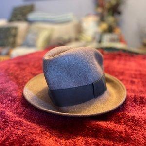 🍒3/$45🍒! Zara Wool Fedora hat 🎩 ~made in Italy